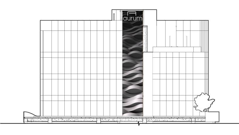 Aurum-elevation-drawing